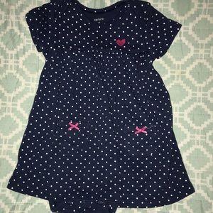 Carter's polka dot dress & bodysuit✨ 5️⃣ for $🔟 ✨